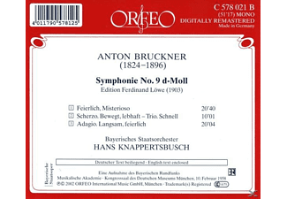 Bayrisches Staatsorchester - Sinfonie 9 d-moll  - (CD)