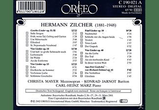 Christa Mayer, Konrad Jarnot, Carl & Heinz März - Goethe-Lieder op.51,II/Lieder op.10/13/14/40/41  - (CD)