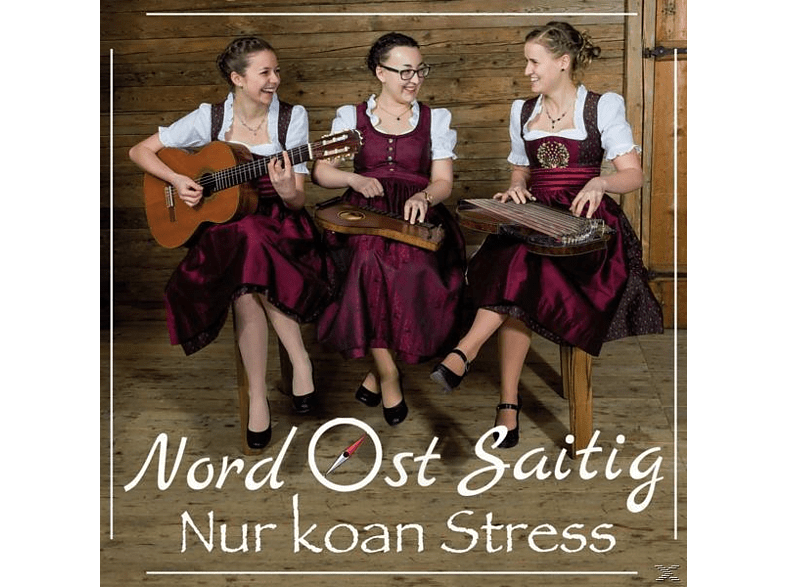 Nord Ost Saitig - Nur koan Stress [CD]