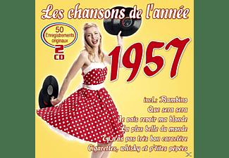 VARIOUS - LES CHANSONS DE L ANNEE 1957  - (CD)