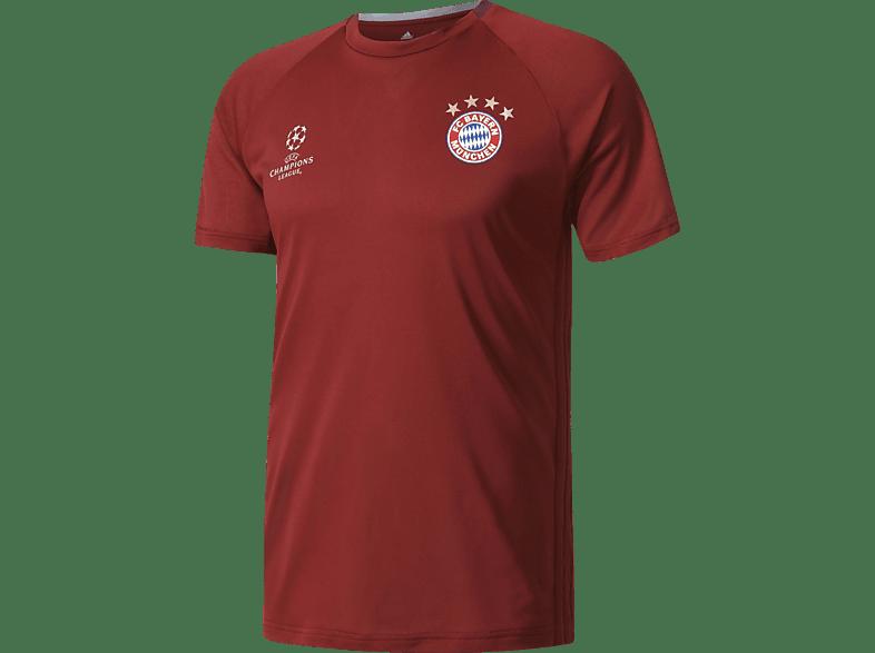 ADIDAS FC Bayern München Trainingsjersey Champions League, Rot
