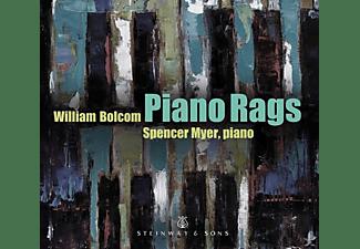 Spencer Myer - Piano Rags  - (CD)