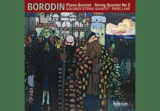 Goldner String Quartet, Lane Piers - KLAVIERQUINTETT IN C-MOLL/CELLOSONATE IN B-MOLL  - (CD)