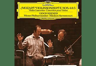 Gidon Kremer, Wiener Philharmoniker - Violinkonzerte 4 & 5  - (Vinyl)