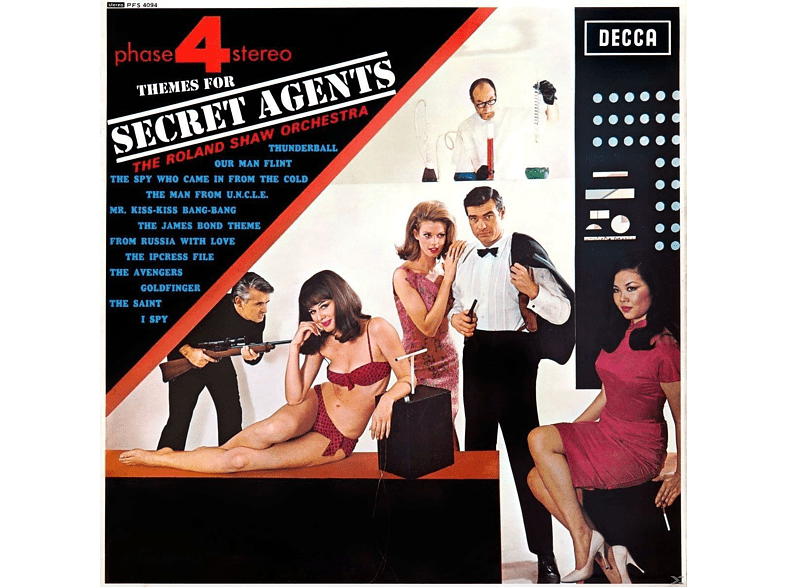 Roland Orchestra Shaw - Themes For Secret Agents [Vinyl]