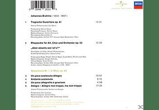 Wiener Philharmoniker - Brahms  - (CD)