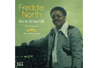 Freddie North - What Are You Doing To Me-Complete A-Bet Recordin  - (CD)