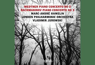 Marc-andré Hamelin - Klavierkonzerte  - (CD)