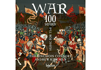 Kirkman,Andrew/Binchois Consort,The - Music for the 100 Years' War  - (CD)