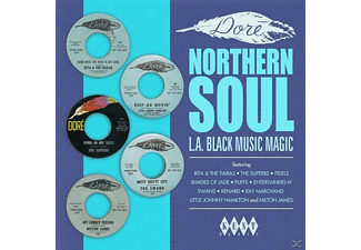 VARIOUS - Dore' Northern Soul-L.A.Black Music Magic - (Vinyl)