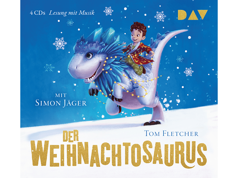Tom Fletcher - Der Weihnachtosaurus - (CD)