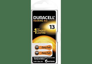 DURACELL Hörgerätebatterien Größe 13, 6er Pack