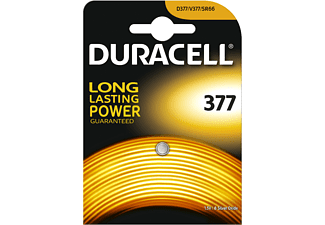 DURACELL Specialty 377 Silver Oxide Batterie, Einzelpackung (D377/V377)