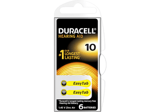 DURACELL EASY TAB 10 6ER Hörgerätebatterie