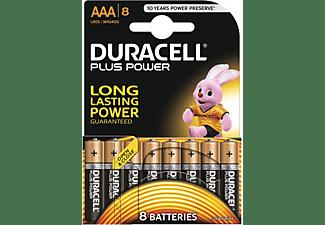 DURACELL Plus Power Alkaline AAA Batterien, 8er Pack (LR03/MN2400)