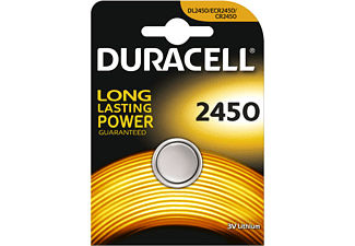 DURACELL Specialty 2450 Lithium Knopfbatterie, Einzelpackung (DL2450/CR2450)