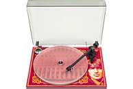 PRO-JECT Essential III George Harrison Plattenspieler Rot/Orange