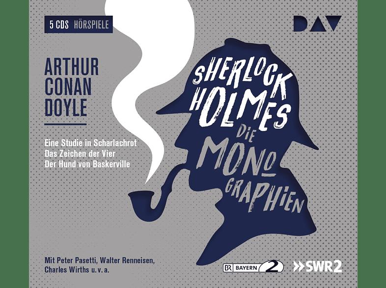 Arthur Conan Doyle - Sherlock Holmes 1-Die Monographien - (CD)