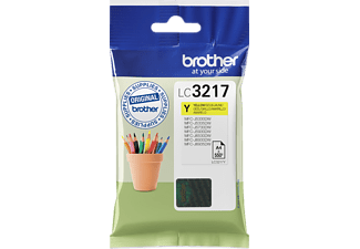 BROTHER LC-3217Y - Tintenpatrone (Gelb)