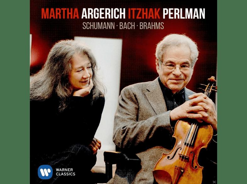 Martha Argerich, Itzhak Perlman - Schumann/Bach/Brahms [CD]