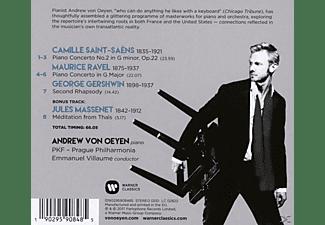 Andrew Von Oeyen - Klavierkonzerte  - (CD)