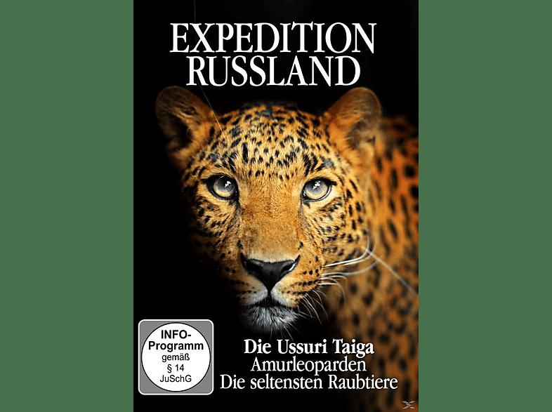 Expedition Russland - Die Assuri Taiga, Amurleoparden, Die seltensten Raubtiere [DVD]