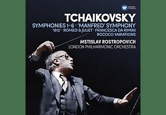 The London Philharmonic Orchestra - Sinfonien/Ouvertüren/Rococo-Variationen  - (CD)