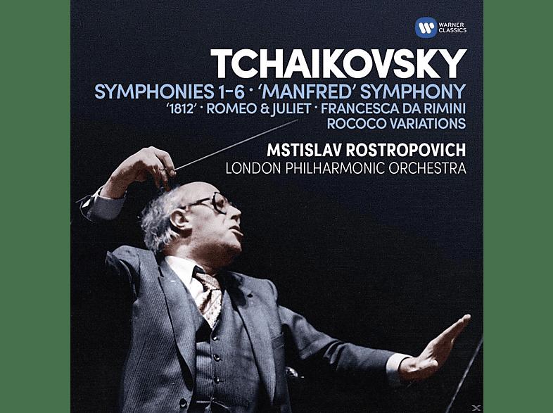 The London Philharmonic Orchestra - Sinfonien/Ouvertüren/Rococo-Variationen [CD]