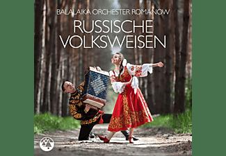 Balalaika Orchester Romanow - RUSSISCHE VOLKSWEISEN  - (CD)