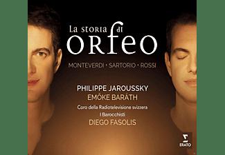 Philippe Jaroussky, Emőke Baráth, I Barocchisti, Coro della Radiotelevisione svizzera - La Storia Di Orfeo  - (CD)