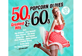 VARIOUS - Popcorn Oldies: 50s & 60s Greatest Hits - (CD)