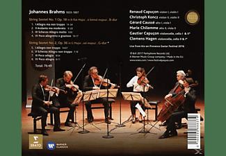 CAPUCON,RENAUD & CAPUCON,GAUTIER - Sextette 1 & 2-Live Aix Osterfestival 2016  - (CD)