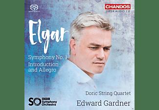 Doric String Quartet, Edward Gardner - Sinfonie 1,op.55/Introduction & Allegro  - (SACD Hybrid)