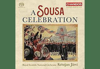 Royal Scottish National Orchestra, Kristjan Järvi - A Sousa Celebration  - (SACD Hybrid)
