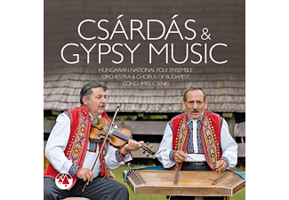 Hungarian National Folk Ensemble, Orchestra And Chorus Of Budapest - Csardas & Gypsy Music  - (CD)