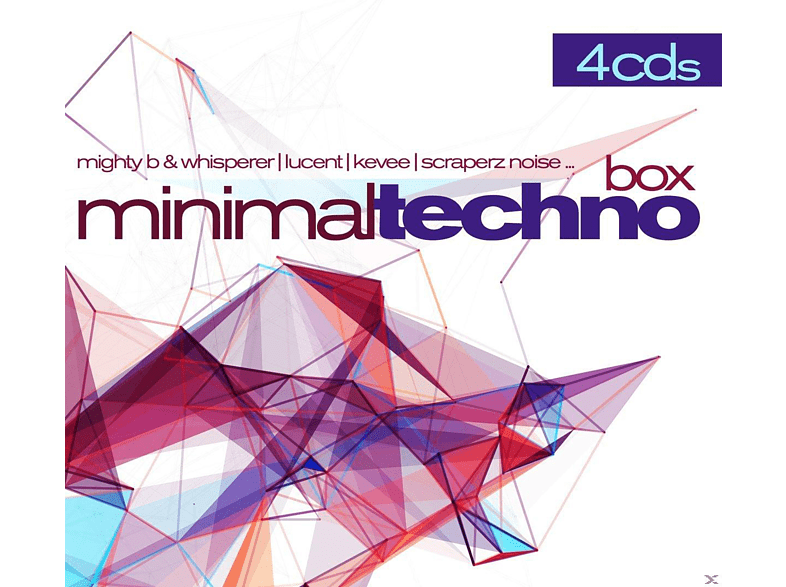 VARIOUS - MINIMAL TECHNO BOX [CD]
