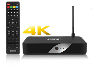 EMINENT Lecteur media 4K TV Streamer LibreELEC Kodi (EM7680)