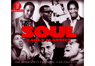 VARIOUS - Soul: Early Classics - The Absolutely Essential 3 Cd Collect  - (CD)
