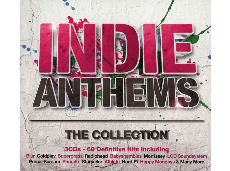 VARIOUS - Indie Anthems-The Collection [CD]