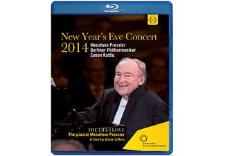 Menahem Pressler, Berliner Philharmoniker - Berliner Philharmoniker-Silvesterkonzert 2014  - (Blu-ray)