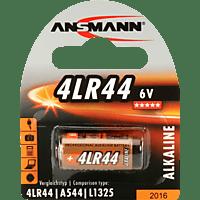 ANSMANN 4LR44 LR44 Batterie, Alkaline, 6 Volt 1 Stück