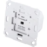 HOMEMATIC IP 151322A0 Rollladenaktor für Markenschalter, Homematic IP, Grau