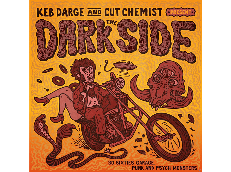 VARIOUS - The Dark Side:Sixties Garage Punk And Psyche Monst [CD]