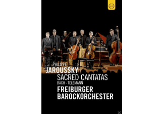 Philippe Jaroussky, Freiburger Barockorchester - Scared Cantatas  - (DVD)