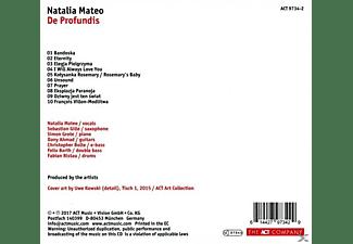 Natalia Mateo - De Profundis  - (CD)