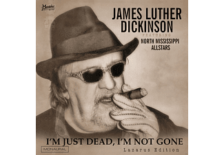 James Luther Dickinson - I'm Just Dead,I'm Not Gone (Lazarus Edit)  - (CD)