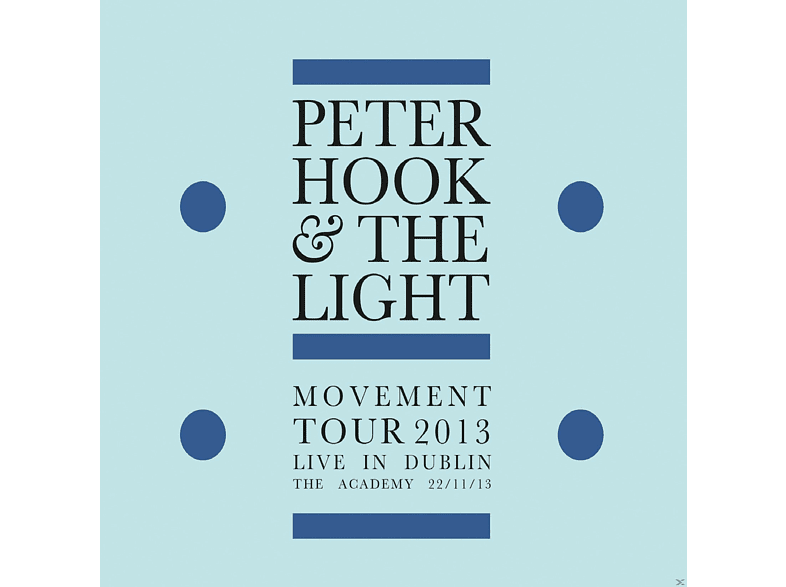 The Light, Peter Hook - Movement-Live In Dublin [CD]