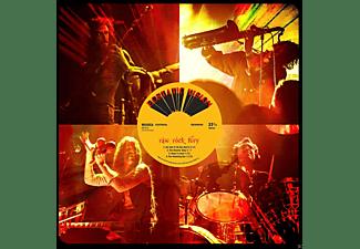 Ecstatic Vision - Raw Rock Fury (Black LP+MP3)  - (Vinyl)
