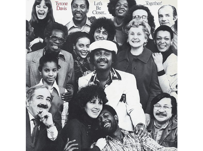 Tyrone Davis - Lets be closer togheter! [CD]
