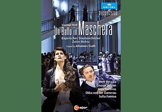 Piotr Beczala, George Petean, Anja Harteros, Okka Von Der Damerau, Tiziano Mancini, Bayerisches Staatsorchester, Chorus Of The Bayerische Staatsoper - UN BALLO IN MASCHERA  - (DVD)